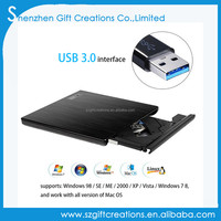 USB 3.0 DVD RW Burner CD/DVD ROM Player External Optical Drive DVD-RAM Writer Recorder Portable for imac Laptop Computer PC