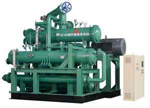 600kw ORC screw expander generator recover biomass energy to power