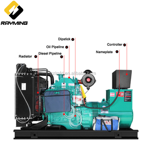 Intelligent Operating Diesel Generator Price 80kw/100kva Powered By Cummins Philippines For Sale