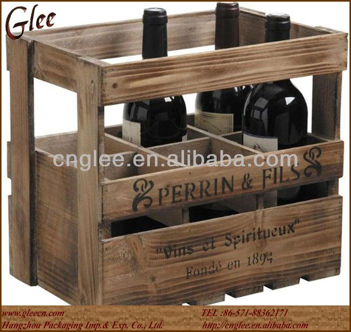 Barniz de madera antiguo caj n para la cerveza embalaje - Cajones de madera antiguos ...