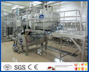 full set dairy milk, cheese, yoghurt, butter, ice cream production plant