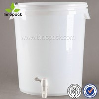 30L beer fermenter with lid and printing