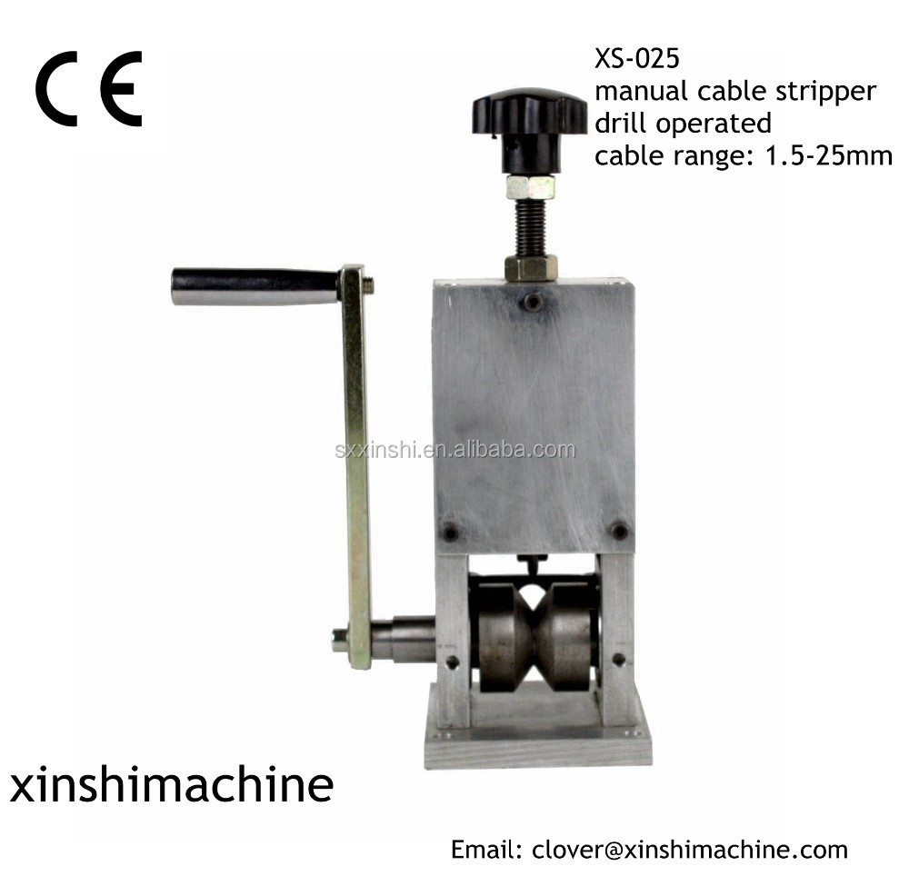 Xs Bench: Xs-025 Bench Top Commercial Drill Operated Cable Wire