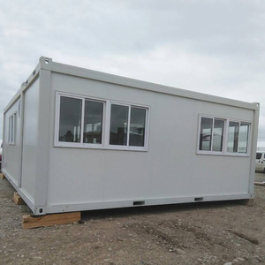Custom foldable floating container pack flat house with ISO9001