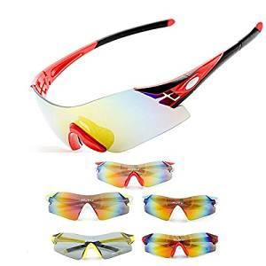 255509ea47d Get Quotations · (Random Color) Bike Bicycle Polarized Sunglasses Cycling Sun  Glasses Driving Eyewear Goggles   Bike