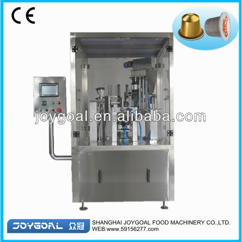 PLC controlled  coffee milk powder filling and sealing machine