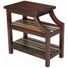 Sofa side small wooden storage Tea Coffee Chairside Table
