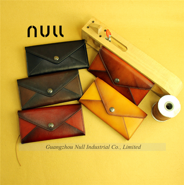 Genuine leather phone purses famous brand wallet