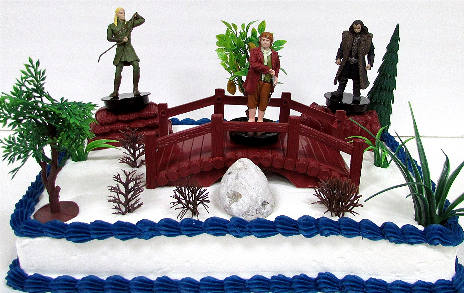 Buy The Hobbit An Unexpected Journey Birthday Cake Topper Set