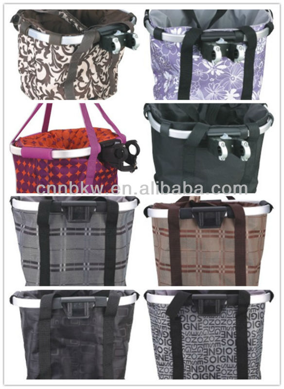 2014 portable round baskets for bikes