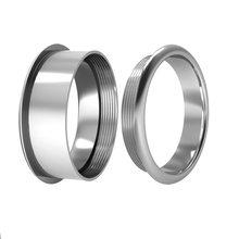 Cremo Bague внутреннее кольцо заполненное Кольцо женское вращающееся кольцо из нержавеющей стали материал взаимозаменяемый персонализированн...(Китай)