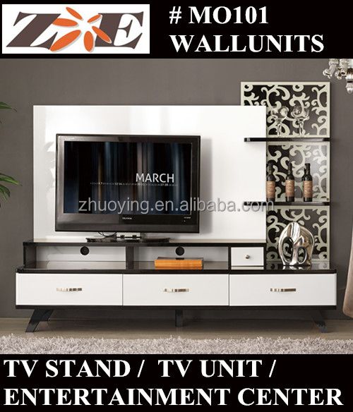 Cheap Modern Wooden Lcd Tv Stand Showcase Design Living Room