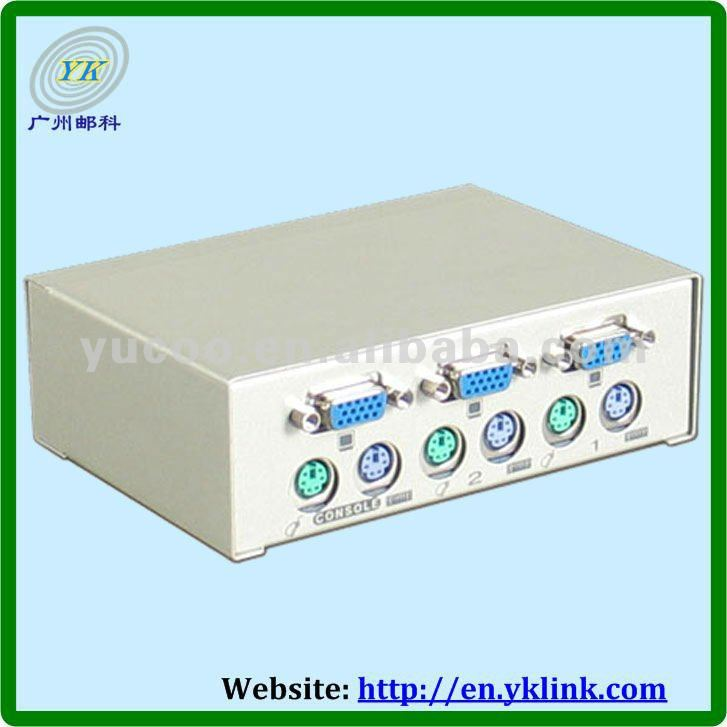 (YK-MS21P) Compare 2-PORT KVM Switch