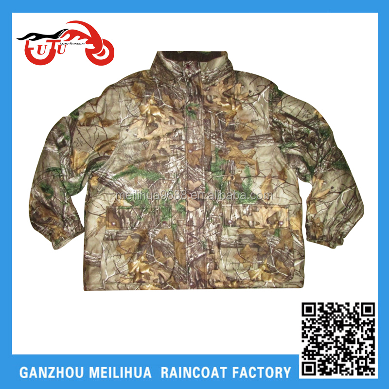 OEM High Quality Men's Tree Waterproof Winter Fishing Hunting Camo Softshell Jacket
