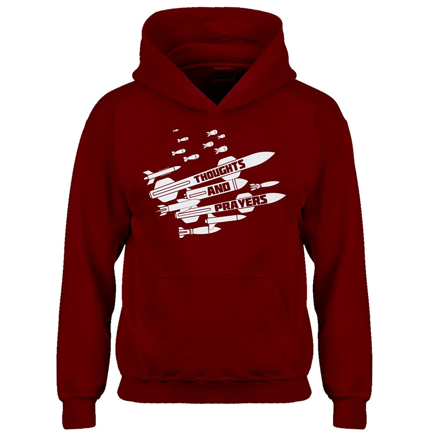 Indica Plateau Youth Thoughts and Prayers Kids Hoodie
