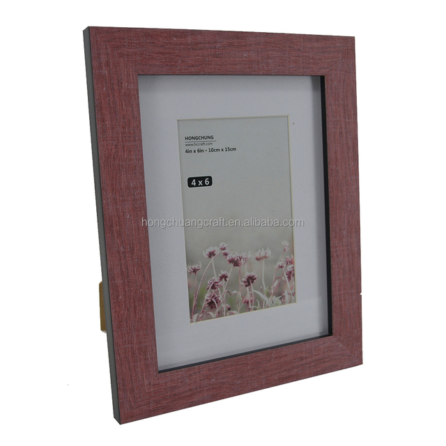 plastic classic double sided glass photo frame - Double Sided Glass Frame