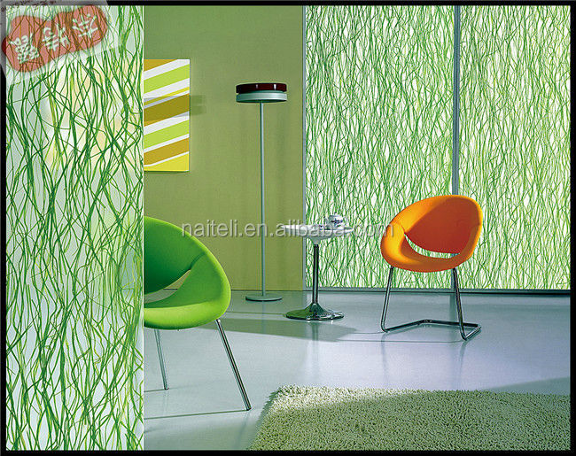 room divider decoration architectural sandwich glass wall - Glass Sheet Hotel Decorating