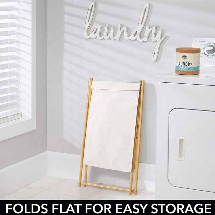 Portable-Collapsible-Folding-Clothes-Basket-Storage-With