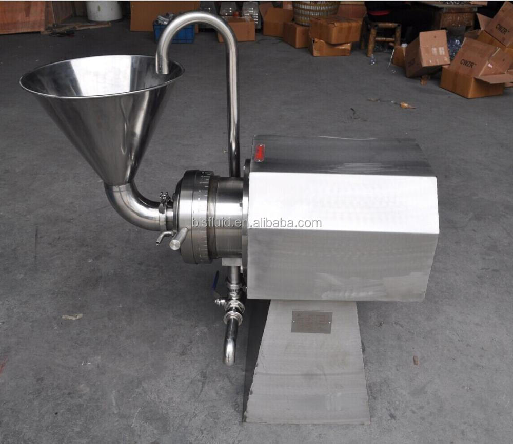 Stainless Steel Colloidal/Colloid Mill for tomato sauce(horizontal type)