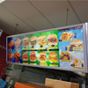 /product-detail/fast-food-restaurant-advertising-snap-open-aluminum-led-felt-menu-board-24-x36-light-box-movie-poster-light-frame-60458486758.html