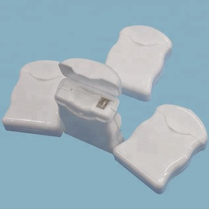 convenient to carry white box packing dental floss glide deep clean