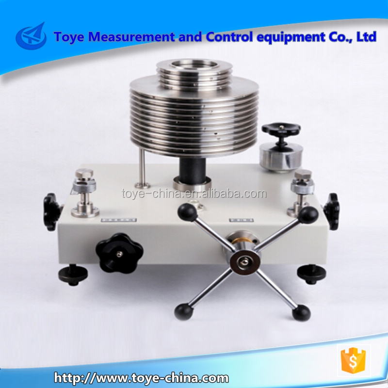 DEAD WEIGHT TESTER , BEST SELLER TV-600T PRESSURE DEADWEIGHT TESTER WHOLESALE