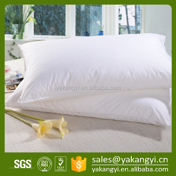 Factory Wholesale WhiteCustom Polyester Fiber Pillow For Hotel