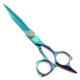 Fenice rainbow color Fancy Screw hair scissors professional barber scissors JP440C stainless steel