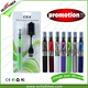 2015 Ocitytimes New design cigarros electronicos ego colorful light up vaporizer ego ce5 starter kit
