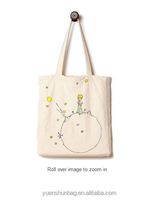 Pure Cotton Canvas Tote Bag, The Little Prince