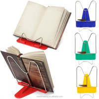 creative Novelty Angle Foldable Reading Book Stand Holder Document Metal Desk