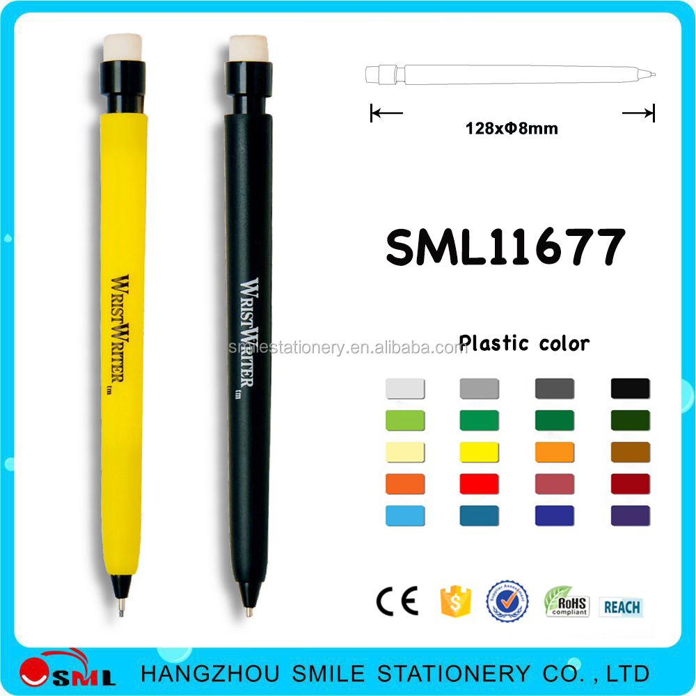 2016 Automatic Metal Mechanical Pencil With eraser with pen