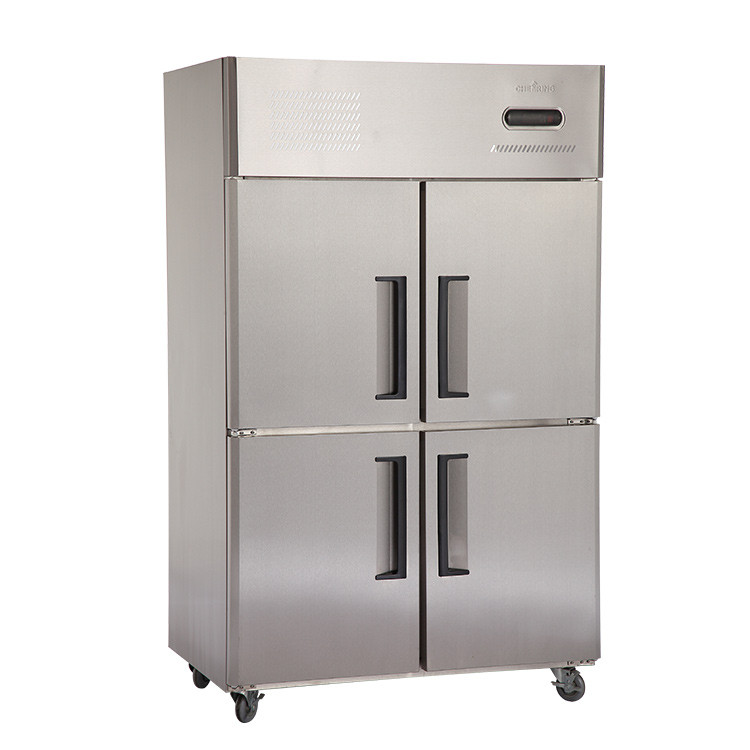 Commercial Glass or stainless steel top open door deep chest freezer