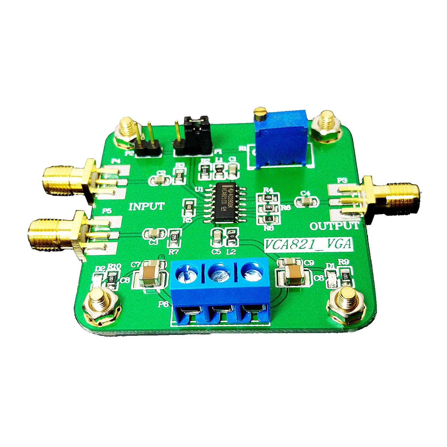 Cheap Electronic Amplifier Find Deals On Line Tda2009 Stereo Hifi Class Ab Power Circuit Get Quotations 1 Pc Voltage Controlled Gain Vca821 Module Race Programmable Ggain