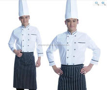 polyester and cotton woven fabric chef uniform fabric