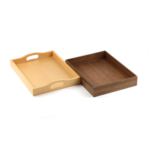 Factory Direct Supply High Quality OEM Wooden Tray