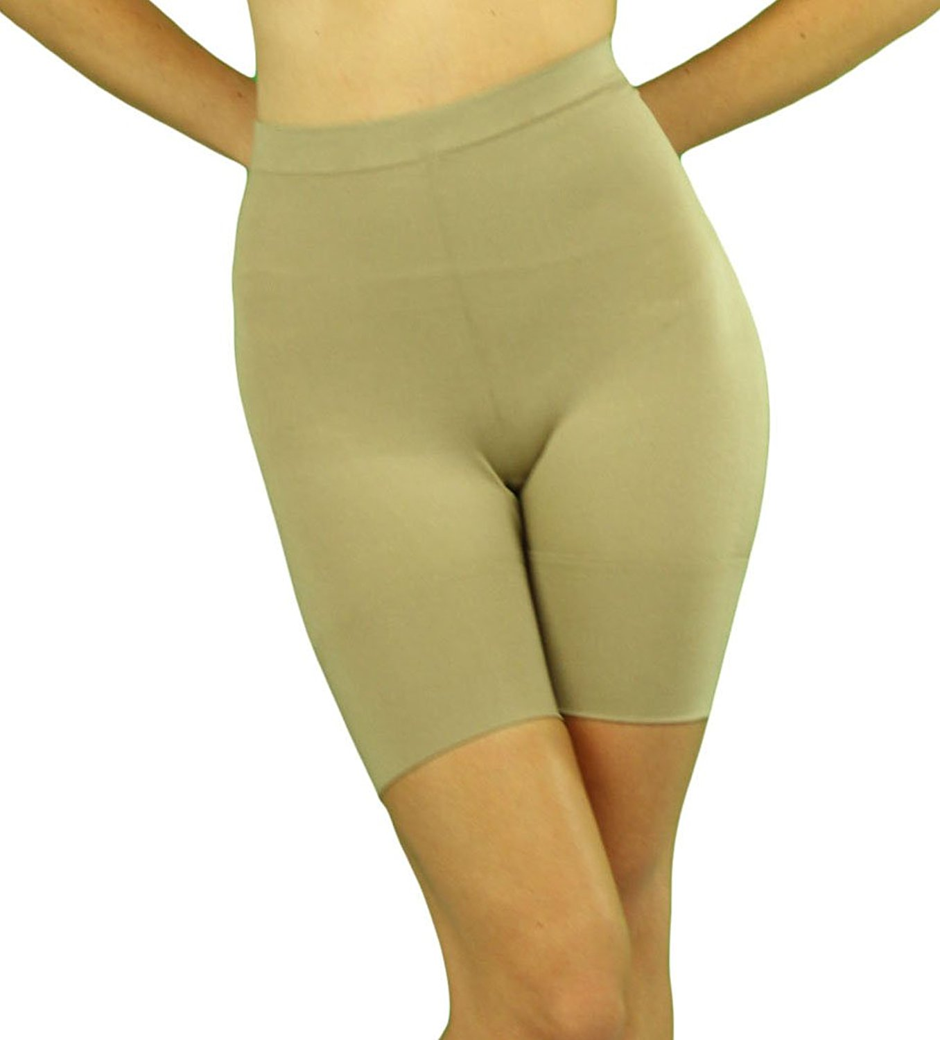 cc457cc5ada Get Quotations · ToBeInStyle Women s High Waisted Body Shaper Leg Shaper  Compressor