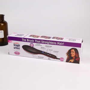 Ceramic Hot Comb Fast Electric Straightening Comb, Brush Hair Straightener