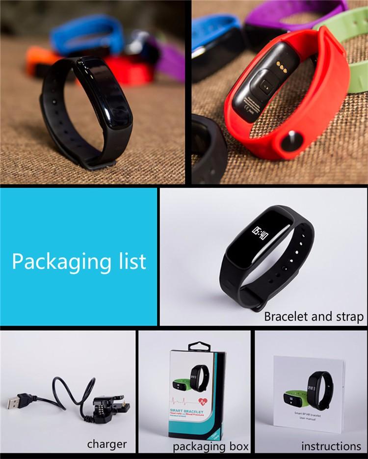 Very Fit App Smart Bracelet Heart Rate Jordan Wristband Blood Pressure  Control Watch Made In China - Buy Heart Rate Blood Pressure,Jordan