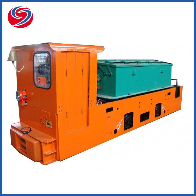 Ho 8T Explosion Proof Coal Mine Underground Electric Battery Locomotive