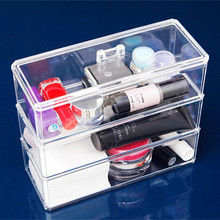 Acrylic Makeup / Cosmetic Tools Holder Organizer Stand Display Cases
