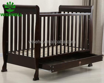 Wood Convertible Baby Cribs Baby Bed With Drawer W-bc-1504 - Buy Baby Bed  Baby Crib,Kids Room Design,Kids Room Furniture Set Product on Alibaba.com