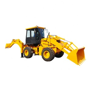 VOTE Mini Wheel Backhoe Loader With CE ISO And Factory Price For Sale