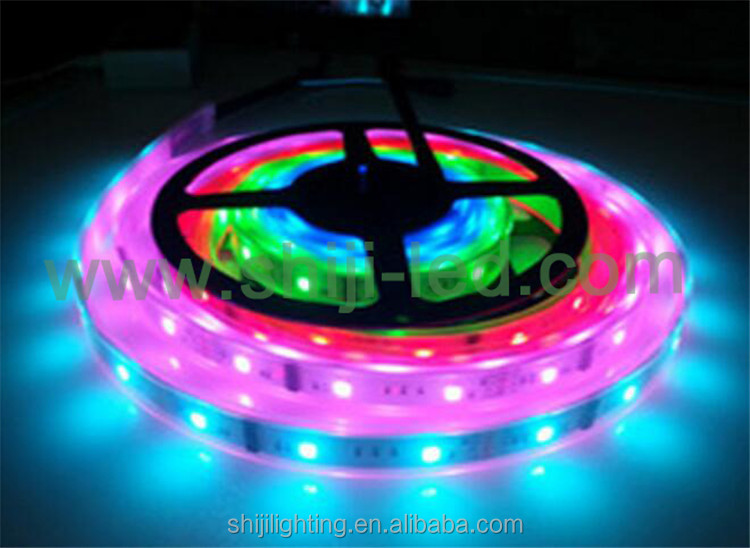 digital led module WS 2801 dmx rgb led pixel waterproof Dc 12V