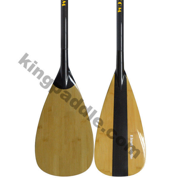 SUP Board Bamboo Carbon SUP Paddle