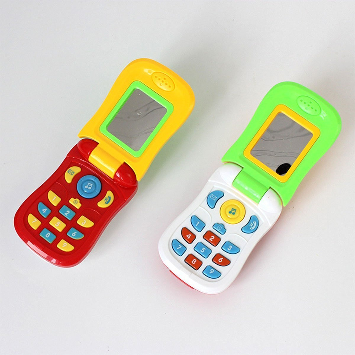 Buy Toy Mobile Phone Fun Baby Toy Music Toy Mobile Phone Infant Flip