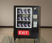 mechanical mini condom cigarette pad vending machine for sale