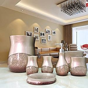 BBSLT Manufacturers selling seven-piece bathroom set-bathroom luxury bathroom suite bath supplies wholesale resin bathroom