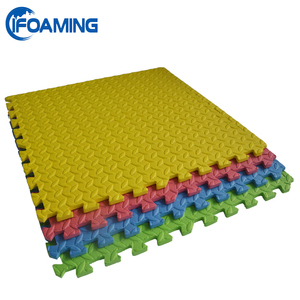 Plain Color Non-toxic Gym Judo EVA Flooring Puzzle Foam Mats