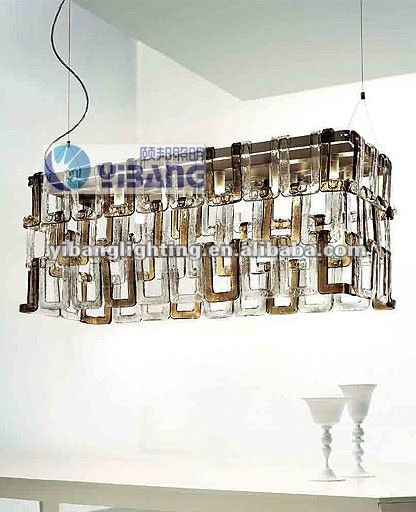 2012 New glass ceiling lamp YP125